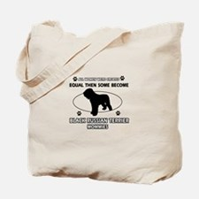 Black Russian Terrier mommy gifts Tote Bag