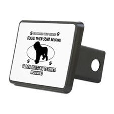 Black Russian Terrier mommy gifts Hitch Cover