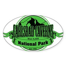 carlsbad caverns 3 Decal