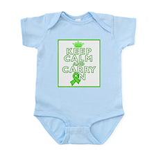 Lyme Disease Keep Calm Carry On Infant Bodysuit