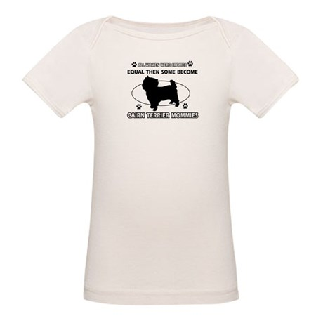 Cairn Terrier mommy gifts Organic Baby T-Shirt