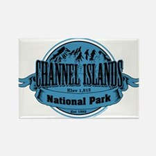 channel islands 2 Rectangle Magnet