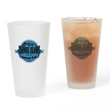 channel islands 2 Drinking Glass