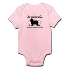 Canaan Dog mommy gifts Infant Bodysuit