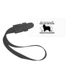 Canaan Dog mommy gifts Luggage Tag