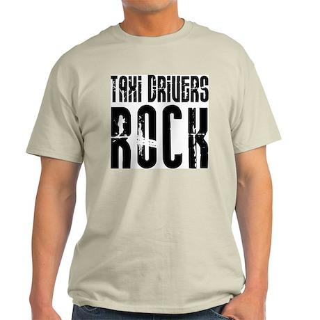 Taxi Drivers Rock Ash Grey T-Shirt