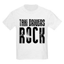 Taxi Drivers Rock Kids T-Shirt