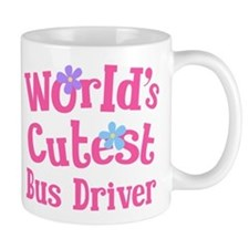 World's Cutest Bus Driver Small Mug