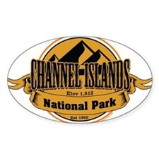 channel islands 5 Decal