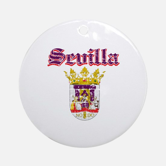Sevilla City Designs Ornament (Round)
