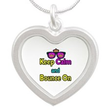 Crown Sunglasses Keep Calm And Bounce On Silver He