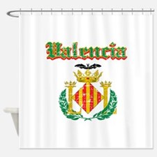 Valencia City Designs Shower Curtain