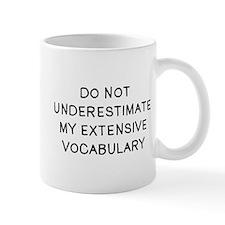 Do Not Vocab Small Mug