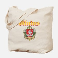 Vilnius City Designs Tote Bag