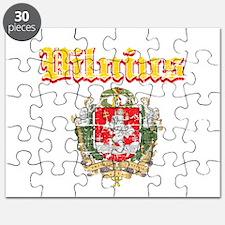 Vilnius City Designs Puzzle