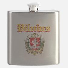 Vilnius City Designs Flask