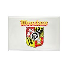 Wroclaw City Designs Rectangle Magnet