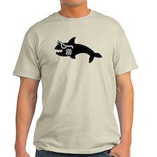 Hipster Shark T-Shirt