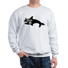 Hipster Shark Sweatshirt