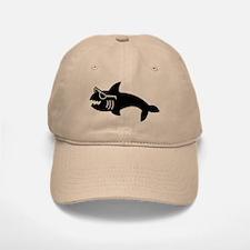 Hipster Shark Baseball Baseball Cap