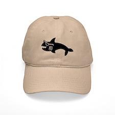 Hipster Shark Baseball Cap