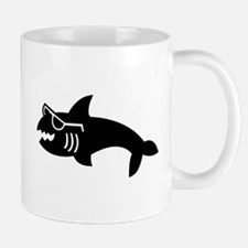 Hipster Shark Mug