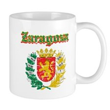Zaragoza City Designs Small Mug