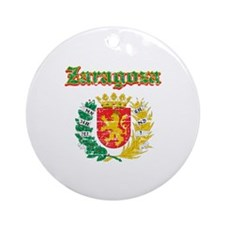 Zaragoza City Designs Ornament (Round)