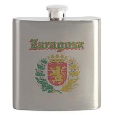 Zaragoza City Designs Flask