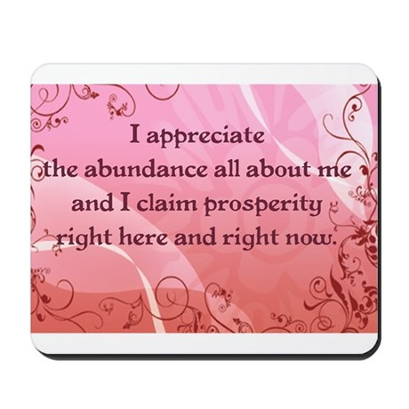 Prosperity Mousepad