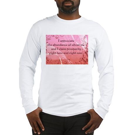 Prosperity Long Sleeve T-Shirt