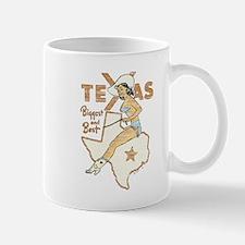 Vintage Texas Pinup Mug