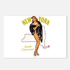 Vintage New York Pinup Postcards (Package of 8)