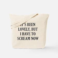 It's Scream Tote Bag