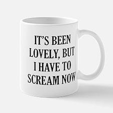 It's Scream Small Mug