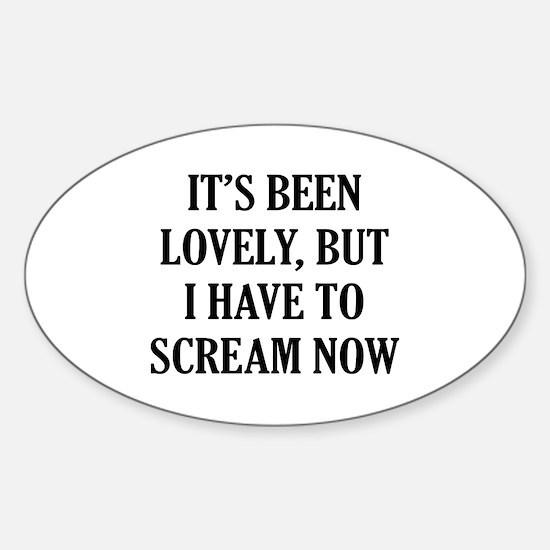 It's Lovely Sticker (Oval)
