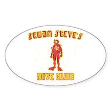 Scuba Steve's Dive Club Rectangle Decal