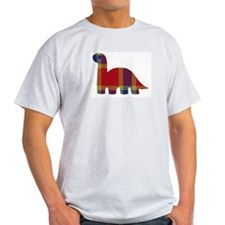 Plaid Dino T-Shirt