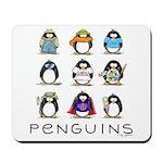 9 Penguins Mousepad