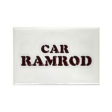 Car Ramrod Rectangle Magnet