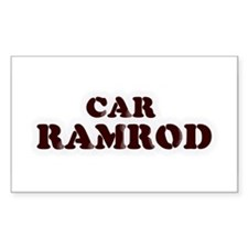 Car Ramrod Rectangle Decal