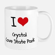 I Love CRYSTAL COVE STATE PARK Mug