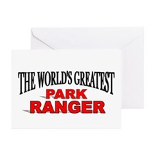 """The World's Greatest Park Ranger"" Greeting Cards"