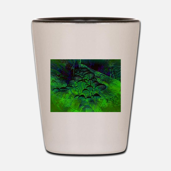 Out of this World, Psychedelic Prints Shot Glass