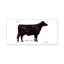 Angus Beef Cow Aluminum License Plate