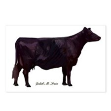 Angus Beef Cow Postcards (Package of 8)