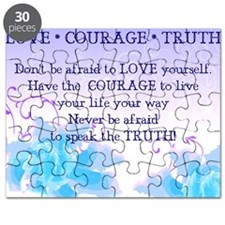 Love*Courage*Truth Puzzle