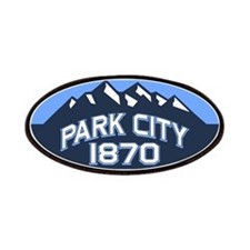 Park City Blue Patches