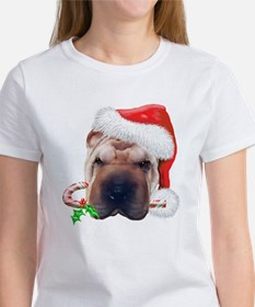 Shar-Pei Christmas Women's T-Shirt
