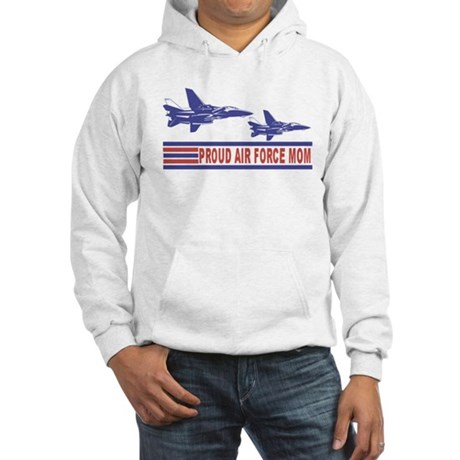 Proud Air Force Mom Hooded Sweatshirt
